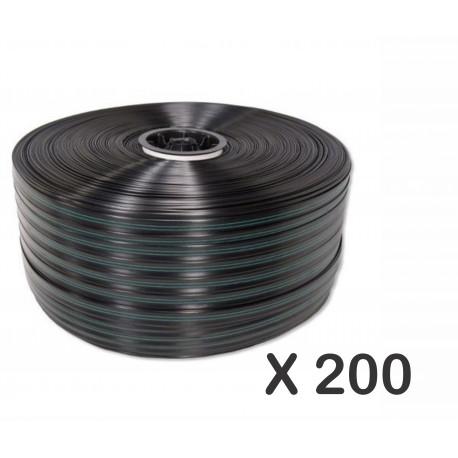 Kit: Cinta de goteo x 200 metros con conectores