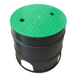 Caja Para Valvulas De Riego Circular Large 30x25h