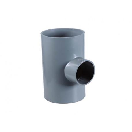 Te Reducciòn Pvc Sd 110mm X 90mm X 110mm (pn 10)