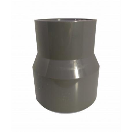 Cupla Buje Reducción Larga Pvc Soldable 110mm X 90 Mm Pn10